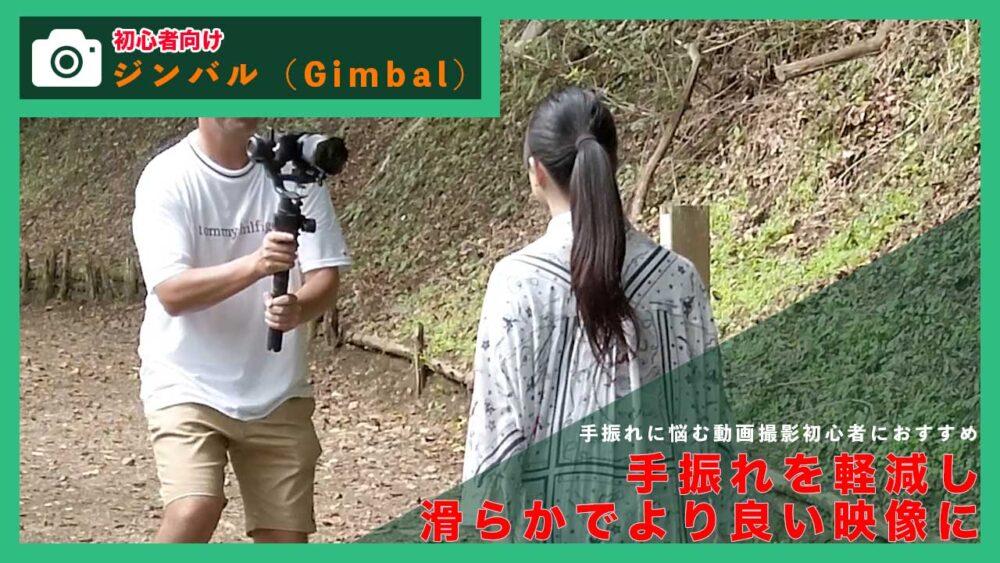 【動画撮影初心者向け】手振れを軽減し滑らかな映像にするジンバルについて
